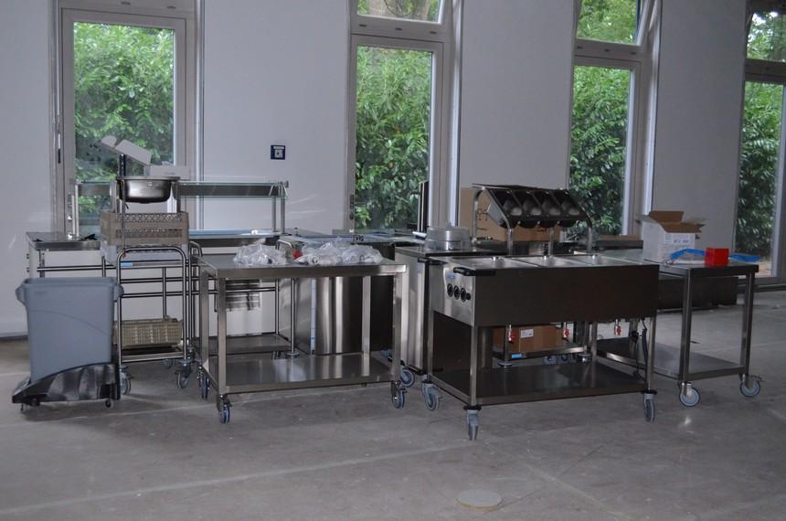 Outdoor Küche Hamburg : Blick in die neue küche katharina von siena schule hamburg